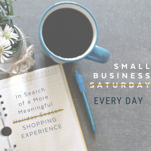 Musings on Small Business Saturday