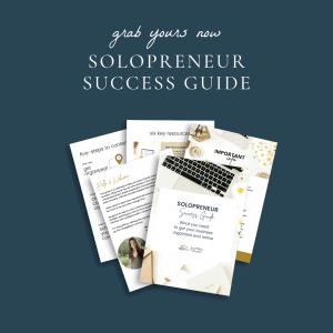 solopreneur success guide
